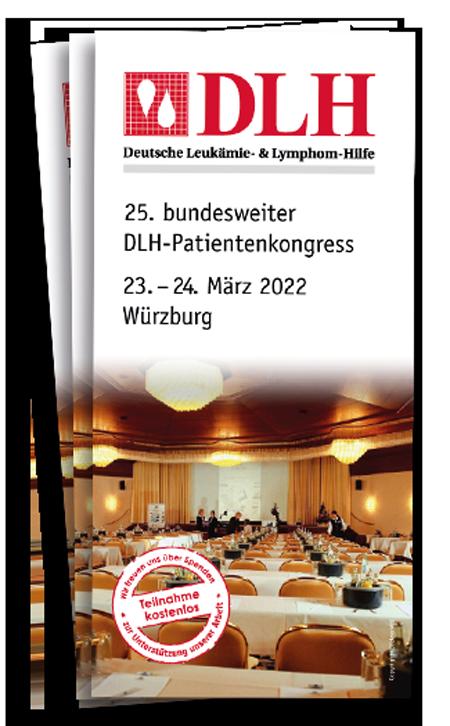 Programmheft Vorschau DLH Kongress für 2022 in Würzburg